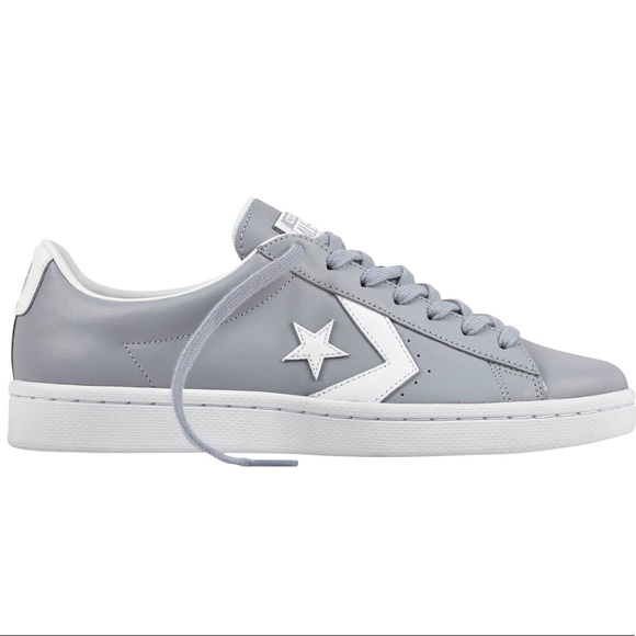 f325c55cb9a9a9 ⬇  36Converse Pro Leather 76 OX WOLF GREY white 10